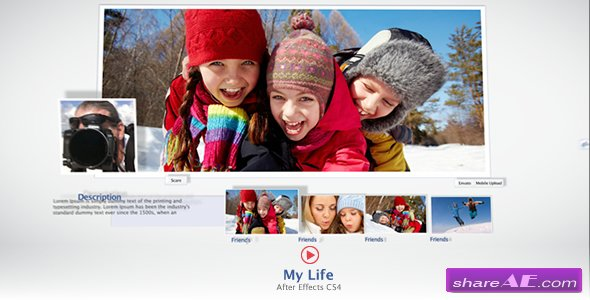 My Life - After Effects Project (Videohive)