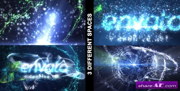 Particle Effect vol.3 (3 in 1) - After Effects Project (Videohive)