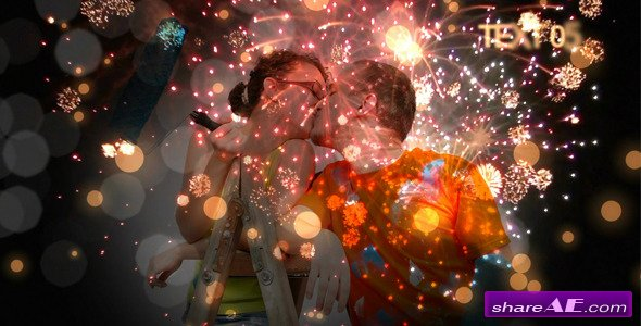 Romantic Fireworks - After Effects Project (Videohive)
