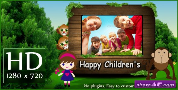 Happy Children's - Project for After Effects (VideoHive)