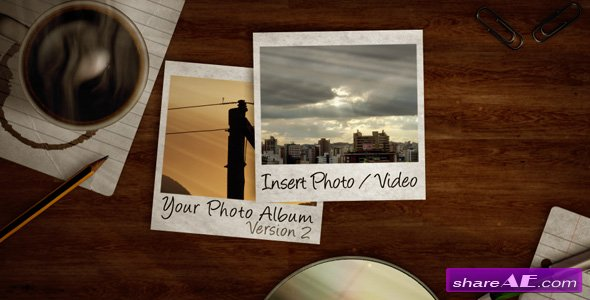 Photo Album V.2 - Project for After Effects (Videohive)