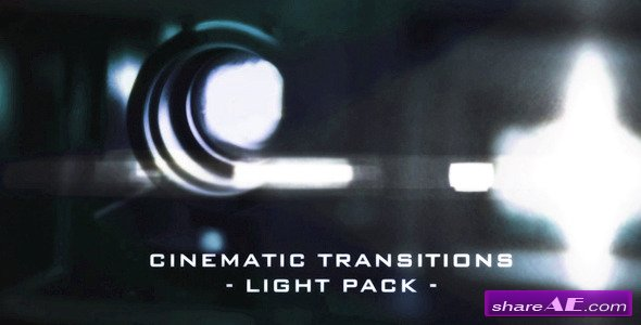 Motion Graphics - Cinematic Light Transitions - 11 Pack  (VideoHive)