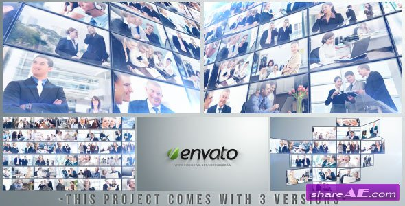 Videohive Multi Video Logo/Text Opener - After Effects Project