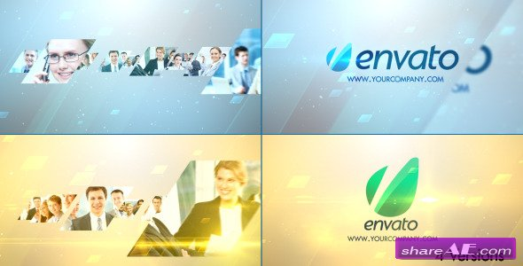 Videohive Stylish Glossy Slider Logo - After Effects Project
