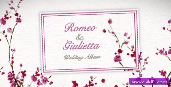 Videohive Expresso Wedding Album v2 - After Effects Project