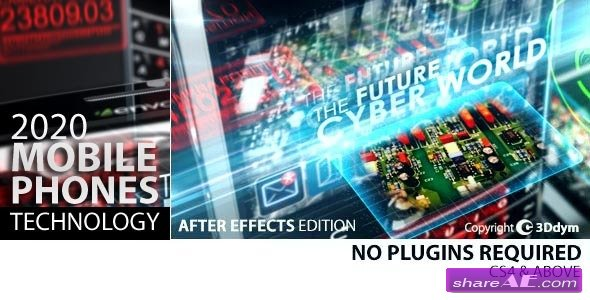 Videohive 2020 Mobile Phones Technology - After Effects Project