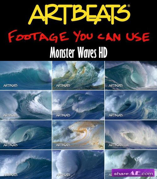 Artbeats - Nature: Monster Waves HD (1080p)