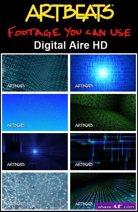 Artbeats - Backgrounds: Digital Aire HD (1080p)