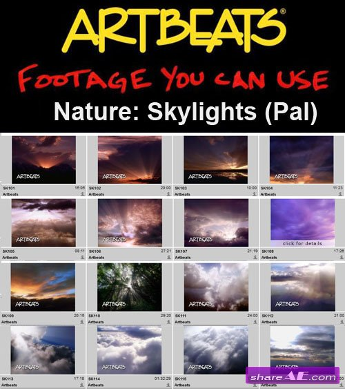 Artbeats - Nature: Skylights (Pal)