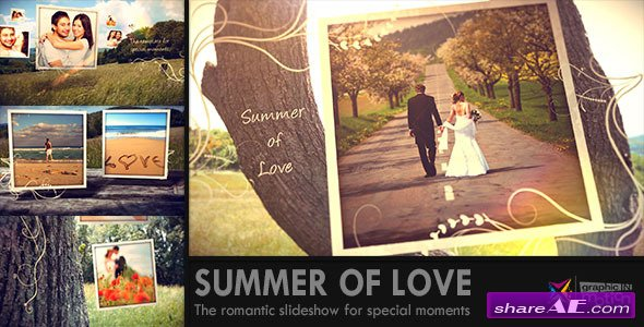 Summer of Love - After Effects Project (Videohive)