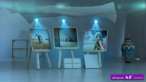Artist Gallery (In the Wind) - After Effects Project (Videohive)