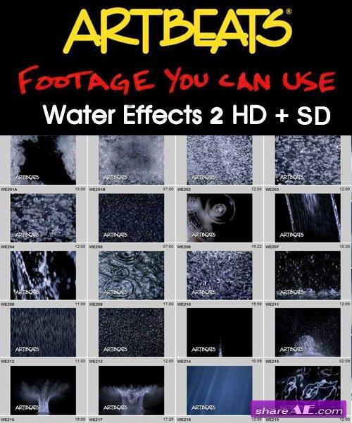 Artbeats - Effects: Water Effects 2 (HD+SD)
