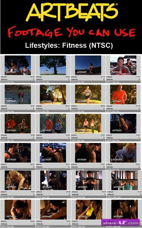Artbeats - Lifestyles: Fitness (NTSC)