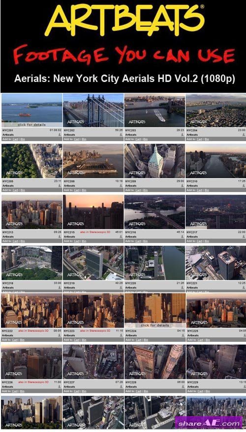 Artbeats - Aerials: New York City Aerials Vol.2 HD (1080p)