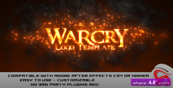 Videohive Warcry Logo - After Effects Project