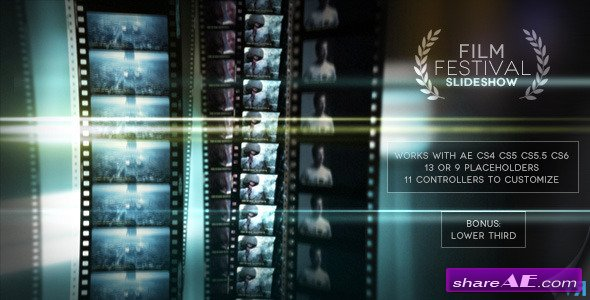 Videohive Film Festival Slideshow - After Effects Project