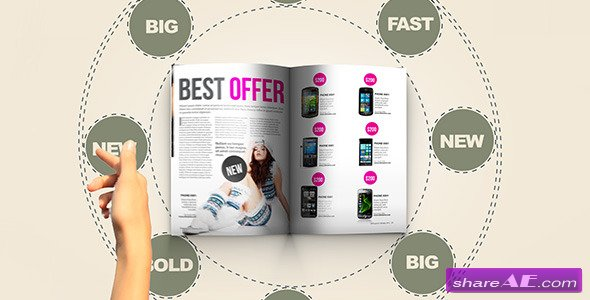 Videohive In Magazine - After Effects Project