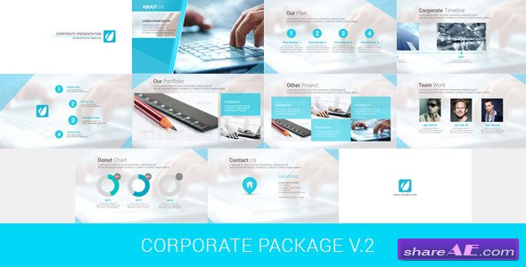 Videohive Corporate Package V.2 - After Effects Project