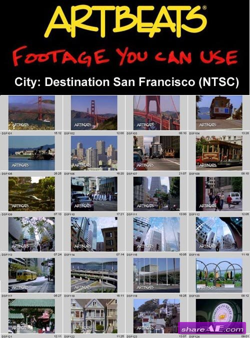 Artbeats - City: Destination San Francisco (NTSC)