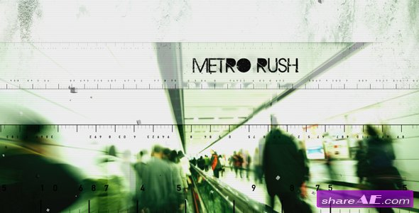 Metro Rush - Project for After Effects (VideoHive)