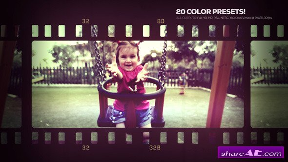 Lovely Memories - Project for After Effects (Videohive)
