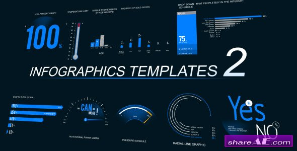 Infographics template 2 after effects project videohive for Sports infographics templates