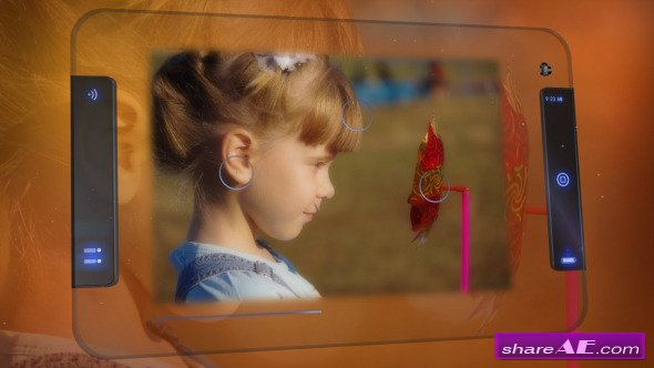 Photosession With Transparent Tablet - After Effects Project (Videohive)