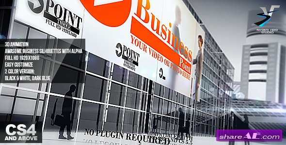 Videohive Business Point - After Effects Project