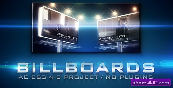 Videohive Billboards 234174 - After Effects Project