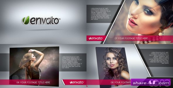 Videohive Fashion Showcase - After Effects Project