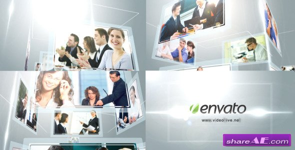 Videohive Corporate Multi Video Logo Revealer - After Effects Project