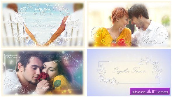 Crystal Love - After EffectsProject  (Videohive)