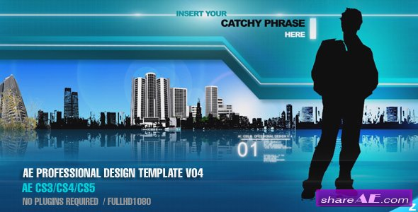 Professional Design Template V04 - After Effects Project (Videohive)