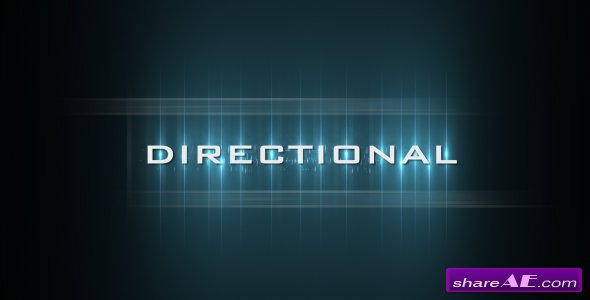 Directional - After Effects Project (VideoHive)