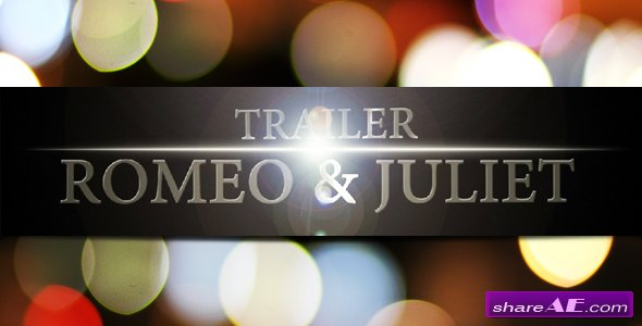 R&J Trailer - After Effects Project (VideoHive)