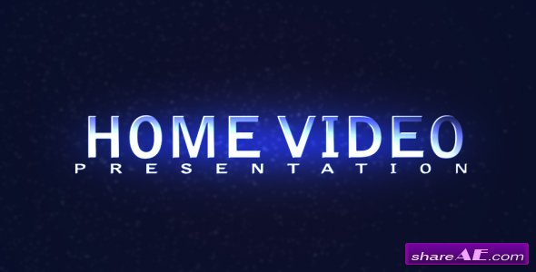 HOME VIDEO Presentation - After Effects Project (VideoHive)