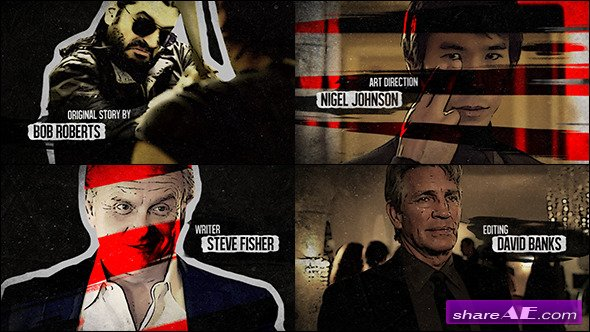 Grunge Promo - After Effects Project (Videohive)