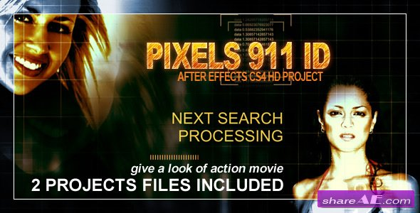 Pixel 911 ID - After Effects Project (Videohive)