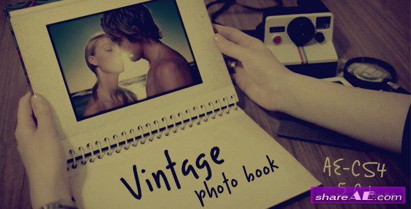 Vintage photo book - After Effects Project (Videohive)