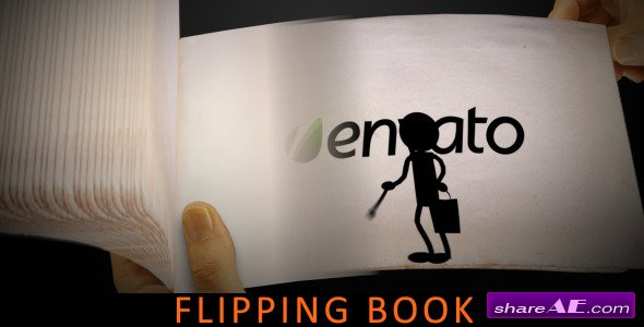 Flipping Book - After Effects Project (Videohive)