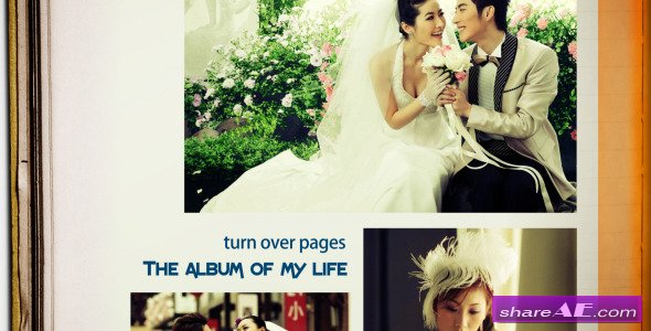 The Album Of My Life - After Effects Project (Videohive)