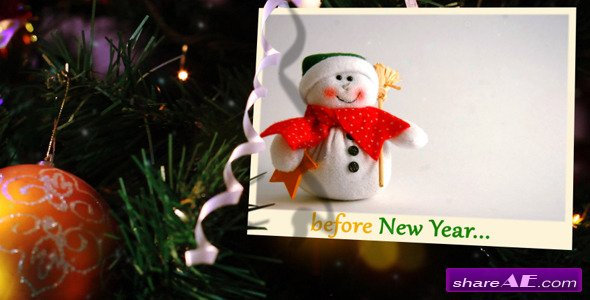 Presentation of the New Year - After Effects Project (Videohive)