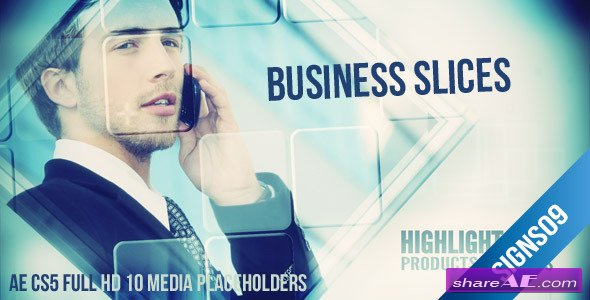 Corporate Business Slides - After Effects Project (Videohive)