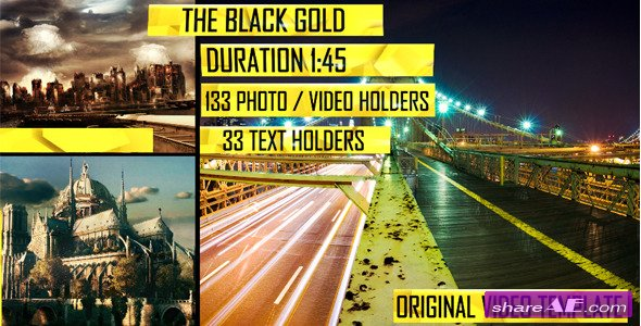 The Black Gold - After Effects Project (Videohive)