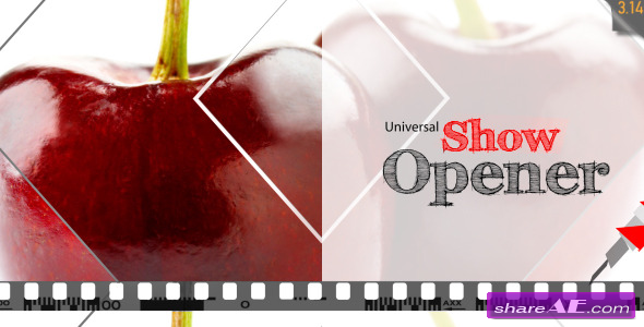 Universal Show Opener - After Effects Project (Videohive)