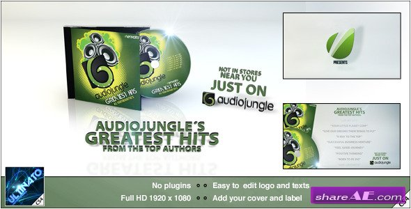 CD Promotion - After Effects Project (Videohive)