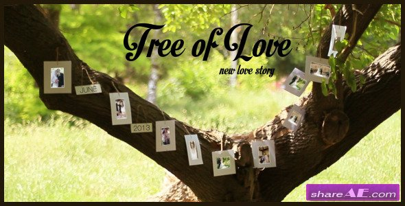 Tree Of Love - After Effects Project (Videohive)