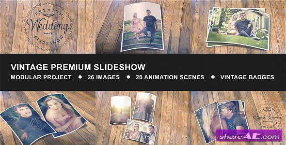 Vintage Premium Slideshow - After Effects Project (Videohive)