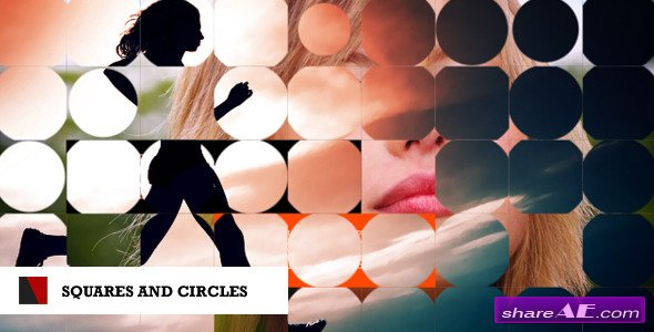 Squares and Circles - After Effects Project (Videohive)