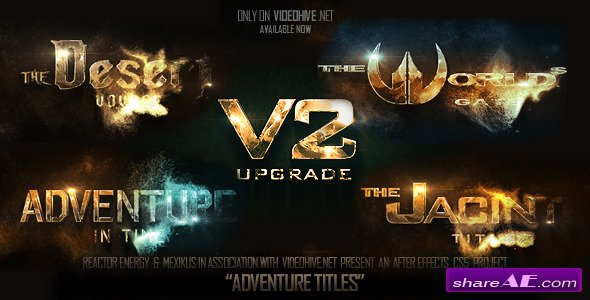 Adventure Titles - After Effects Project (VideoHive)